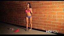 HD POV Very Cute Rahyndee James sucks and fucks...