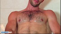 taking a shower whith esteban a sexy str8 guy serviced by us