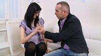 Alla takes her teacher's cock very deep porn videos