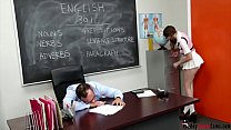 Teacher Long Cock In Sexy Schoolgirl www.daddyi...
