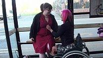 Случайно снятое видео о лесбиянках из жизни