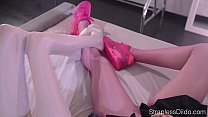 Pantyhose Facesttting by Maria Pie