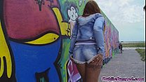 Kyra Hot shows of her amazing body in public an...