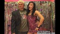 Petite Porn Star Ashli Orion Blows Fan!