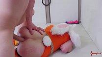 e blonde bunny girls gets her asshole punished