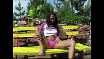 rubbing and up oiled Anabel
