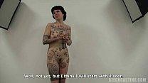(2912) olga - casting czech tatuajes