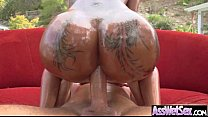 Hard Anal Sex On Cam With (bella bellz) Big Butt Girl Oiled All Over clip-08