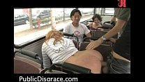 hot public sex scene on the bus   hardcore sex