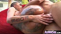 Anal Hardcore Sex With Big Wet Oiled Up Big Ass...