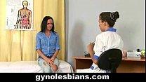 Hot lesbian gyno exam