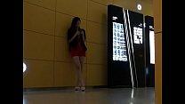 【絲襪美腿】商场里听音乐的美女 - YouTube (720p) porn videos