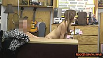 Hot body rocker chick pawns her guitar and her ... thumb