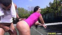 Big ass MILF Kiara Mia loves big black dick