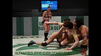 Babes in Bikinis Wrestle and Fuck