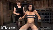 Painful clamping for beauty's mambos
