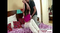 Brother Petite Step-Sister to Fuck her Ass with...
