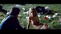 Christina Ricci Black Snake Moan (nude on field)