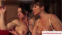 brandi mae and ava devine play with toys