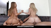 DaughterSwap - Hot Lesbian Teens Fucked By Dads thumb