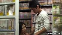 tai phim sex -xem phim sex Ryo is sucking her man off in a sex shop