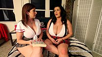 Busty Angelina Castro & Sara Jay School Girls M...