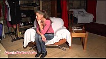 19yo czech chick shows her naked body at the ca...