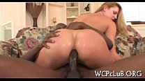 Beauty performs rodeo on jock