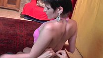 Lapdance and more by nasty girl with short haircut