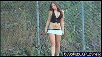 pt2 hottie flashing public in nude - d. Elizabeth