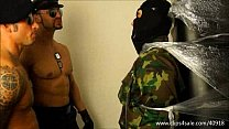 AGRESSIVE SOLDIER AND COP DOMINATES SLAVE - 131 porn videos