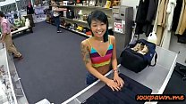 skinny asian babe nailed by pawn keeper at the pawnshop