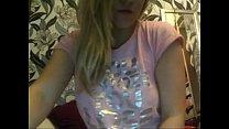 Blonde Girl on Web Cam - download porn videos
