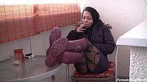 Smoking in Rubber Boots