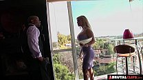 BrutalClips - Big boobed Tyla uses her luscious body to make a sale porn videos