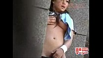 Voyeur Caught Japanese Teen Masturbating Outdoo...