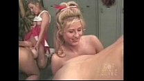 cheerleader locker room orgy