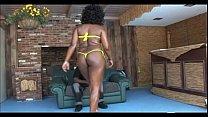 Nasty Ebony Couple Ghetto Fucking thumbnail