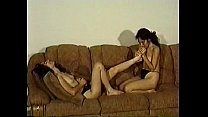 brunette florida twins foot fetish and toe sucking