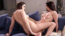 Hot Busty Lesbians Serena Blair and Ashley Adams