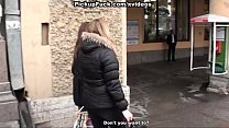 Wild pickup fuck in public place porn videos