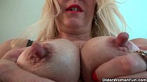 Nyloned soccer milfs Nyla and Shelby stripping off - download porn videos