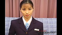 Bukkake airline 10 japanese uncensored shinjo yuki