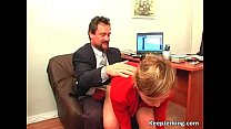 Boss nails horny secretary in office