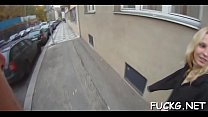 Naïve legal age teenager group-fucked on a spycam