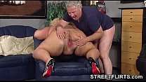 pussy pink big her in bbw fat a Fisting