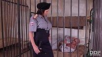 Crazy Hot Prison Guard Patty Michova Fucks Pris...