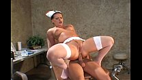 uniform and stockings in fucking Nurse