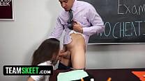 InnocentHigh - SchoolGirl Natalie Monroe Fucks ... thumb