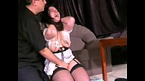 Crying maid nipple tormented and breast whipped to tears